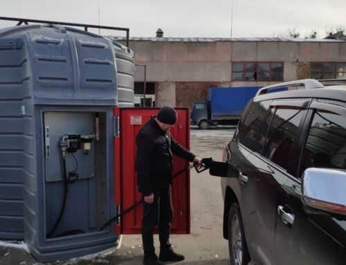 МІНІ АЗС на базі резервуару SWIMER 5000л або 10000л 220В 56л / хв PIUSI (Італія) для дизпалива з електронним лічильником і фільтром – сепаратором води