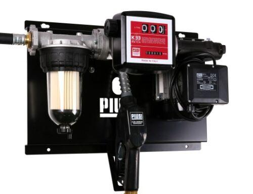 Міні АЗС 220В 56л / хв з механічним лічильником і фільтром сепаратором води для дизпалива, PIUSI ST Panther56 + Clear Captor + A60 (F00386R70) Італія