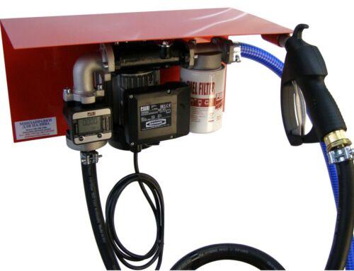 Мини АЗС 220 Вольт 56 л/мин с электронным счетчиком К600 (погрешность 0,5%), оптимально для перекачки дизтоплива, PIUSI (Италия)