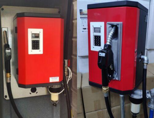 Дозирующая мини АЗС для дизтоплива (с преднабором ) PIUSI Италия, опция- выдача топлива по карточкам, GPS мониторинг