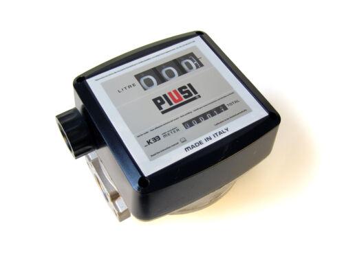 Механический счетчик для перекачки дизельного топлива К33 (20-120л/мин)  000550000 PIUSI Италия