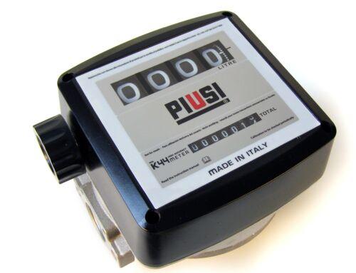 Механический счетчик-расходомер для дизтоплива К44 (20-120л/мин) (количество цифр на сбрасываемом счетчике – 4 (9 999), 000560000 PIUSI Италия
